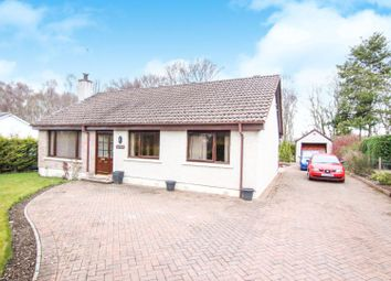 Thumbnail 4 bedroom detached bungalow for sale in Lentran, Inverness