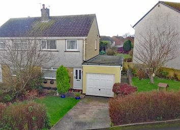 Thumbnail 3 bed semi-detached house for sale in Buttermere Drive, Millom, Cumbria