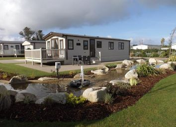 Thumbnail 2 bed mobile/park home for sale in Halt Road, Goonhaven, Cornwall