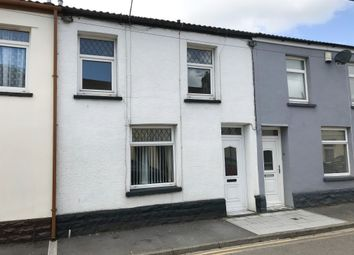Thumbnail 2 bed terraced house for sale in Yew Street, Troedyrhiw, Merthyr Tydfil