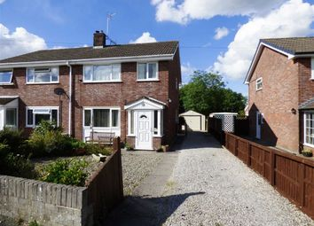 Thumbnail 3 bed semi-detached house for sale in Oaklands Road, Chirk Bank, Wrexham, Chirk Bank
