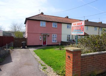 Thumbnail 3 bedroom semi-detached house for sale in Aldham Road, Hadleigh, Ipswich, Suffolk