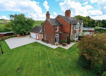 Thumbnail 4 bed semi-detached house for sale in Basford Green, Basford, Leek