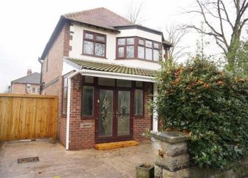 Thumbnail 3 bed detached house to rent in Callingdon Road, Chorlton, Manchester