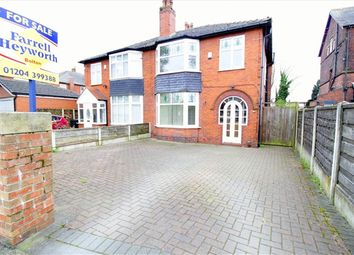 Thumbnail 3 bed property for sale in Radcliffe Road, Bolton