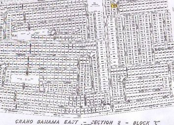 Thumbnail Land for sale in Gb East Section 2 Lot 665, Grand Bahama, The Bahamas