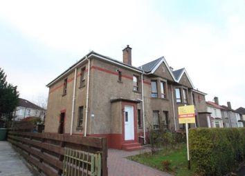 Thumbnail 3 bed flat for sale in Kingsland Drive, Glasgow, Lanarkshire