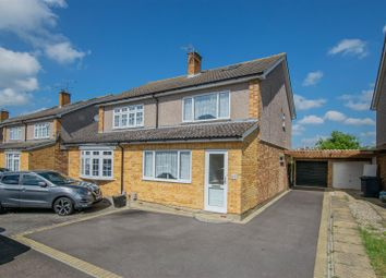 Thumbnail 3 bed semi-detached house for sale in Rockfield Avenue, Ware