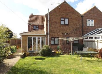 Thumbnail 3 bedroom semi-detached house for sale in Holt, Norfolk