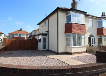 Thumbnail 2 bed semi-detached house for sale in Conway Avenue, Thornton-Cleveleys