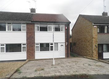 Thumbnail 3 bed end terrace house to rent in Carlton Road, Bilton, Rugby
