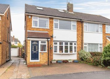 Thumbnail 4 bed semi-detached house for sale in Swifts Green Road, Luton