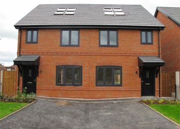Thumbnail 4 bed semi-detached house for sale in Warburton Hey, Rainhill, Prescot, Merseyside