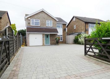 Thumbnail 5 bedroom detached house for sale in The Rhees, East Street, Colne, Huntingdon