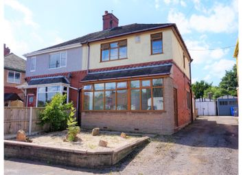 Thumbnail 3 bed semi-detached house for sale in Abbey Lane, Stoke-On-Trent