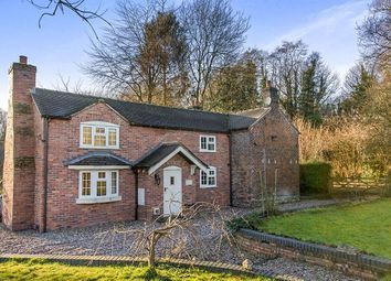 Thumbnail 3 bed detached house for sale in Snapes Cottage Knutsford Road, Church Lawton, Stoke-On-Trent