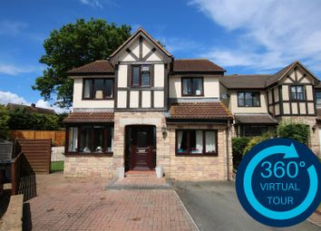 Thumbnail 5 bed detached house for sale in Pinn Valley Road, Pinhoe, Exeter
