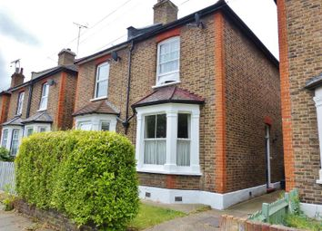 Thumbnail 2 bed semi-detached house for sale in Portman Road, Norbiton, Kingston Upon Thames