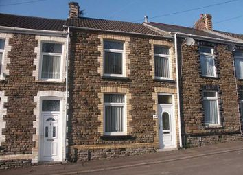 Thumbnail 3 bed terraced house to rent in Morgans Road, Neath, West Glamorgan.