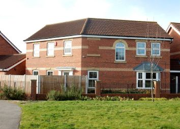 Thumbnail 4 bed detached house for sale in St. Leger Close, Dinnington, Sheffield