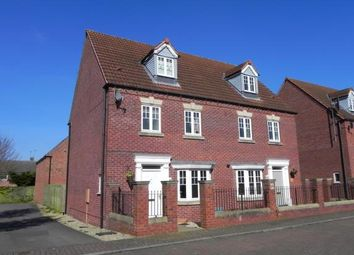 Thumbnail 4 bedroom end terrace house for sale in Attenborough Close, Wigston, Leicestershire
