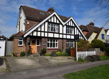 Thumbnail 4 bed semi-detached house for sale in Weston Green Road, Thames Ditton