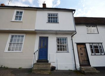 Thumbnail 2 bed terraced house for sale in Mill End, Thaxted, Dunmow, Essex