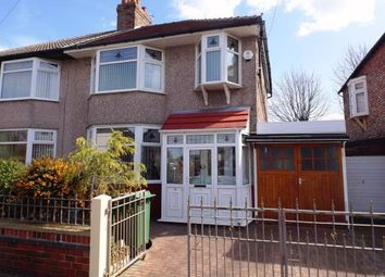 Thumbnail 3 bed semi-detached house for sale in Crescent Road, Walton, Liverpool, Merseyside