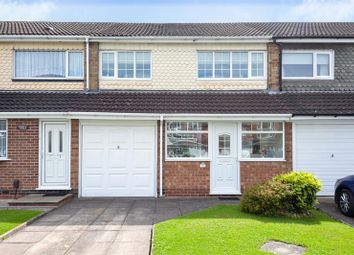 Thumbnail 3 bed town house for sale in Chesterfield Close, West Heath, Birmingham