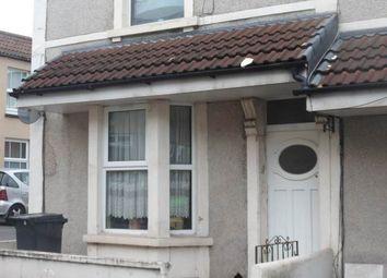 Thumbnail 1 bed flat to rent in Top Floor Flat Salisbury Street, St. George, Bristol