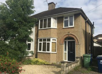 Thumbnail 3 bedroom semi-detached house for sale in Colterne Close, Headington, Oxford