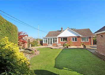Thumbnail 3 bed detached bungalow for sale in Field Lane, Hempnall, Norwich, Norfolk