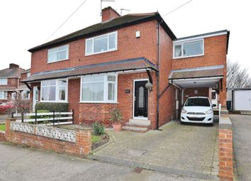 Thumbnail 3 bedroom semi-detached house for sale in Aldham Crescent, Wombwell, Barnsley