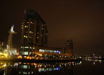 Thumbnail 1 bed flat for sale in The Quays, Salford