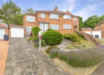Thumbnail 4 bed semi-detached house for sale in Abbots Green, Addington, Croydon