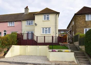Thumbnail 3 bed end terrace house for sale in Pilgrims Way, Dover, Kent