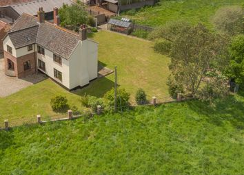 Thumbnail 5 bed farmhouse for sale in Kirstead Green, Norwich