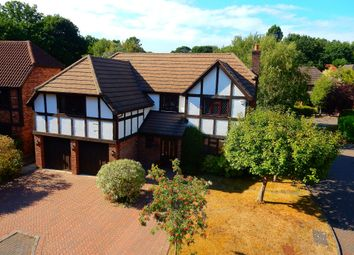 Thumbnail 5 bed detached house to rent in Lansdowne Road, Frimley, Camberley