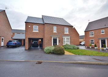 Thumbnail 4 bed detached house for sale in Senator Close, Hucknall, Nottingham