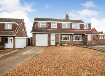 Thumbnail 4 bed semi-detached house for sale in Castle Close, Wing, Leighton Buzzard