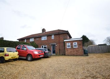 Thumbnail 3 bed semi-detached house for sale in Mulbarton, Norwich