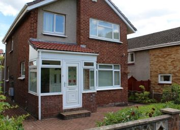 Thumbnail 3 bed detached house to rent in Annan Glade, Motherwell