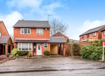 Thumbnail 3 bed detached house for sale in Broad Lane, Lichfield