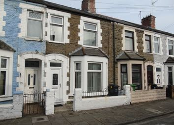 Thumbnail 3 bed terraced house for sale in Aldsworth Road, Victoria Park, Cardiff