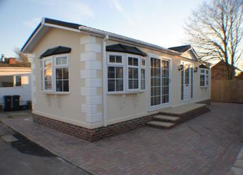 Thumbnail 2 bed mobile/park home for sale in Lyndhurst Road, Christchurch