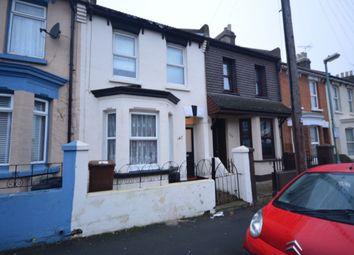 Thumbnail 3 bedroom terraced house for sale in Shakespeare Road, Gillingham