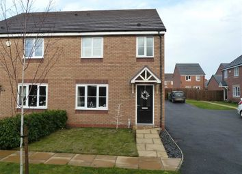 Thumbnail 3 bed semi-detached house for sale in Cygnet Avenue, Penns Croft, Nuneaton
