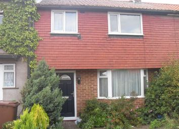 Thumbnail 2 bed terraced house to rent in Weller Avenue, Rochester