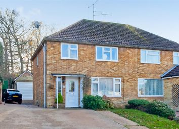 Thumbnail 3 bed semi-detached house for sale in Holmesdale Road, Burgess Hill