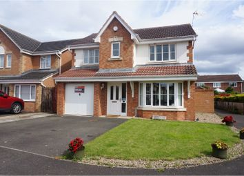 Thumbnail 4 bed detached house for sale in Newby Close, Bedlington